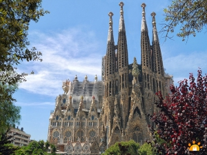 POST-CRUISE CITY TOUR OF BARCELONA WITH AIRPORT DROP OFF (4,5 hrs.)